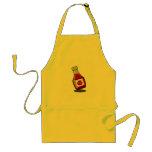 Delantal de la botella de salsa de tomate del dibu