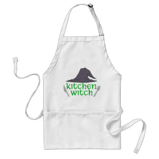 Delantal de la bruja de la cocina