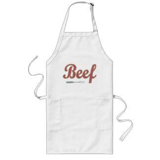 Delantal de la carne de vaca