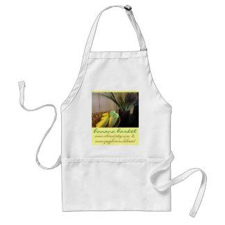Delantal de la cesta del plátano