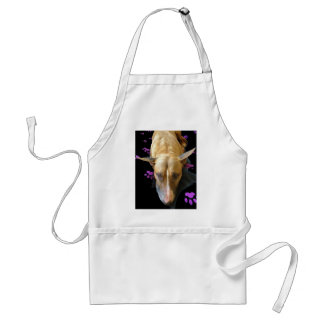 Delantal de la cocina de bull terrier del inglés