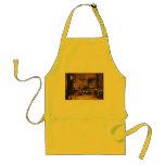 Delantal de la cocina: Monos en cocina por Teniers