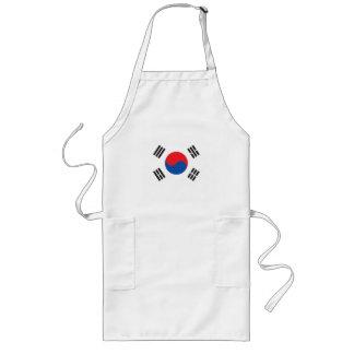 Delantal de la Corea del Sur