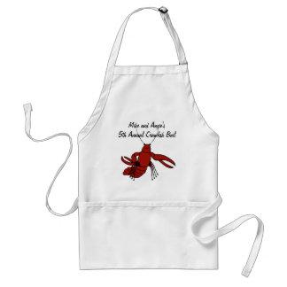 Delantal de la ebullición de los cangrejos