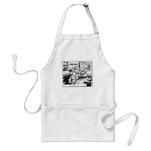 Delantal de la historieta de la panadería 1929