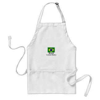 Delantal de la misión del Brasil Goiania