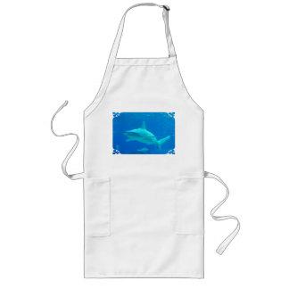 Delantal de la natación del tiburón