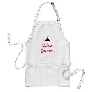 Delantal de la reina de la torta