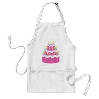 Delantal de la torta de cumpleaños