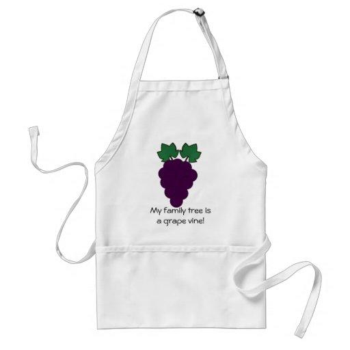 Delantal de la uva
