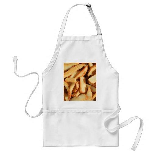 Delantal de las patatas fritas
