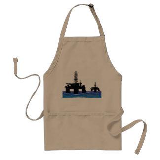 Delantal de las plataformas petroleras