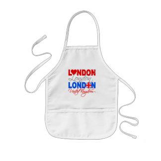 Delantal de Londres - elija el estilo