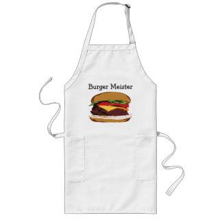 Delantal de Meister de la hamburguesa