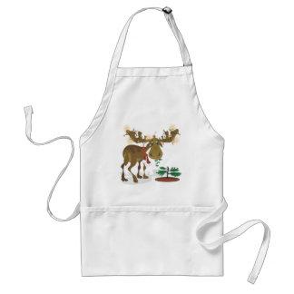 Delantal de Moose~ del navidad