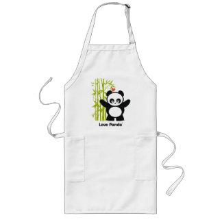 Delantal de Panda® del amor
