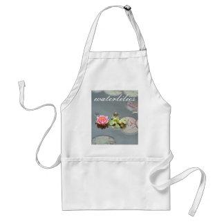 Delantal de Waterlilies