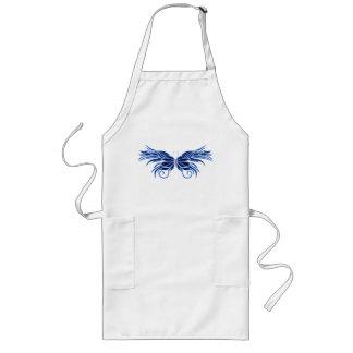 Delantal decorativo de la mariposa