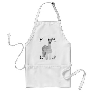 Delantal del arte de la alpaca