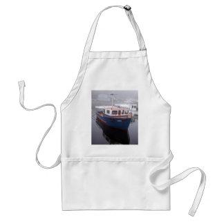 Delantal del barco del tirón