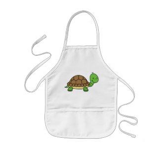 Delantal del bebé de la tortuga