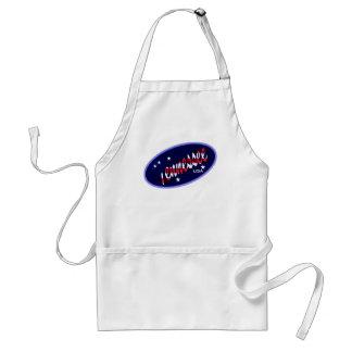 Delantal del cocinero de la bandera de Tennessee l