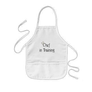 Delantal del cocinero de los niños
