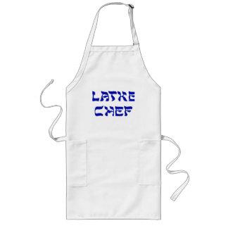 Delantal del cocinero del Latke