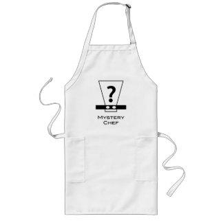 Delantal del cocinero del misterio