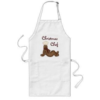 Delantal del cocinero del navidad
