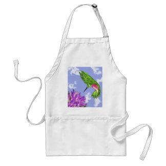 Delantal del colibrí