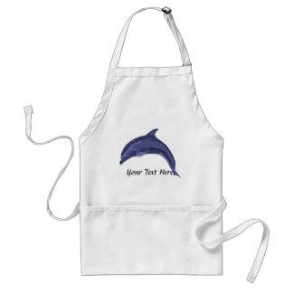 Delantal del delfín