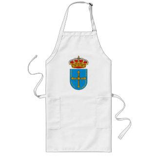 Delantal del escudo de armas de Asturias