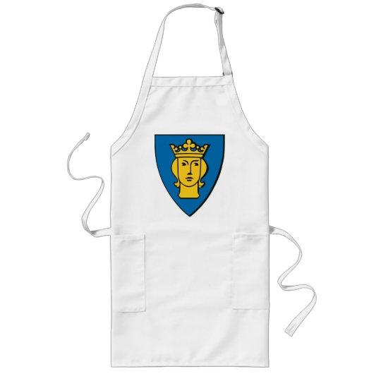 Delantal del escudo de armas de Estocolmo
