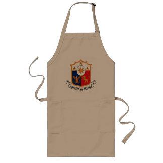 Delantal del escudo de armas de Filipinas