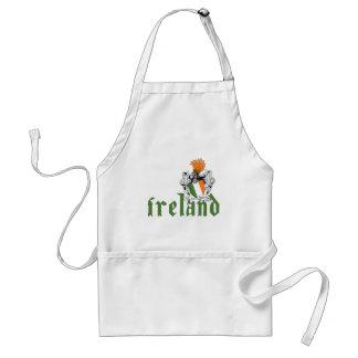 Delantal del escudo de Irlanda