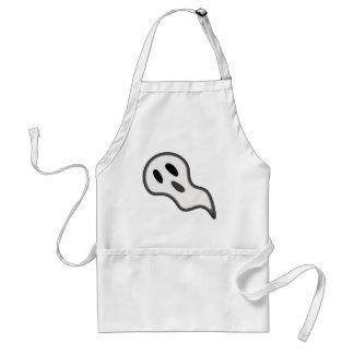 Delantal del fantasma de Halloween