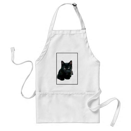 Delantal del gatito