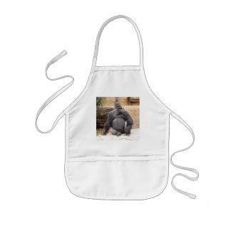 Delantal del gorila