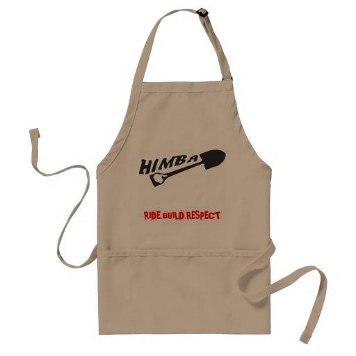 Delantal del logotipo de HIMBA