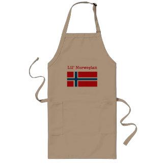 Delantal del noruego de Lil
