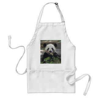 Delantal del oso de panda