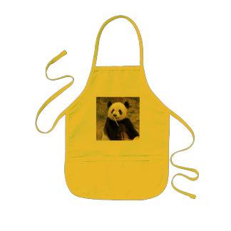 Delantal del oso de panda gigante