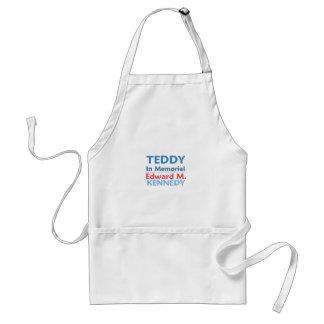 Delantal del PELUCHE de Ted Kennedy