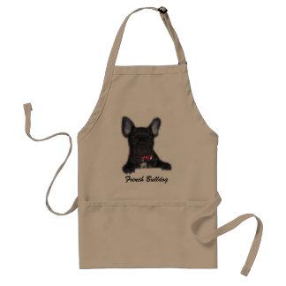 Delantal del perrito del dogo francés