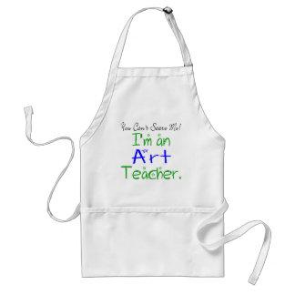 Delantal del profesor de arte