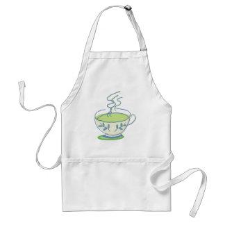 Delantal del té verde