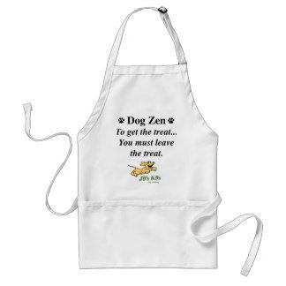 Delantal del zen del perro
