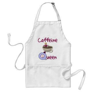 Delantal divertido del amante del café