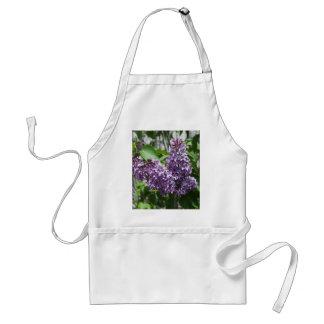 Delantal fresco de la lila